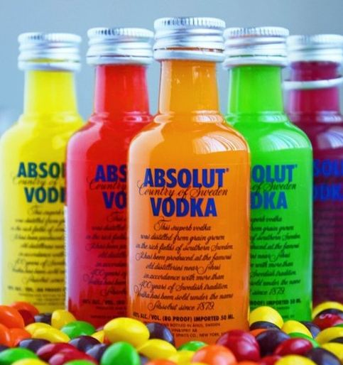 Skittles Vodka Absolut