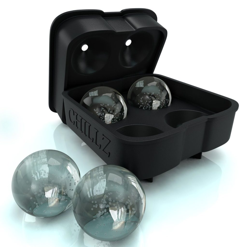bar accessory round ice cube tray